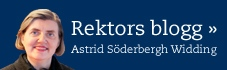 Rektor Astrid Söderberg Widdings blogg